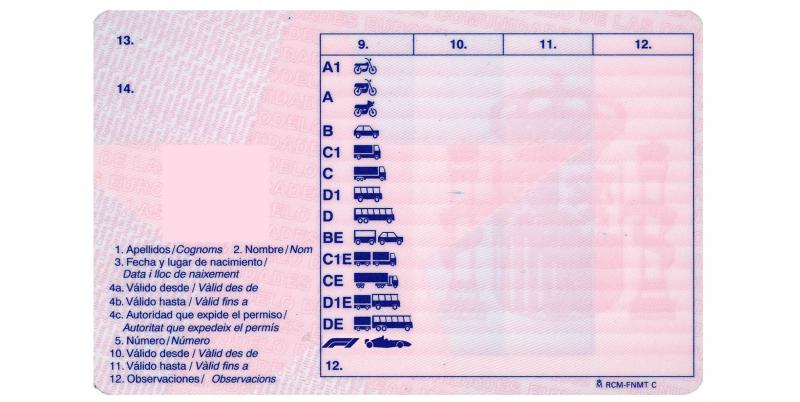 carnet conducir